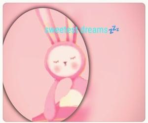 dreams, pink, and sleep image