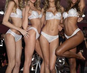 models, underwear, and secret image