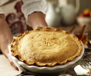 food, pie, and village image
