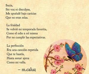 dibujo, cerezos, and mariposa image