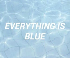 aesthetic, art, and everything is blues image