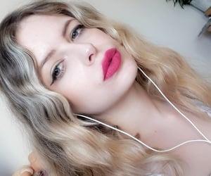blueeyes, girls, and lips image