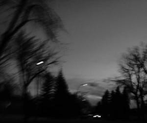 black and white, road, and aesthetic image