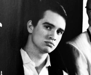 black and white, brendon urie, and sun image