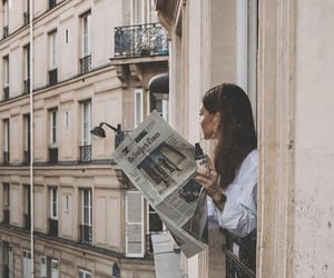 girl, fashion, and architecture image