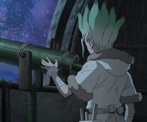 anime, gif, and dr.stone image