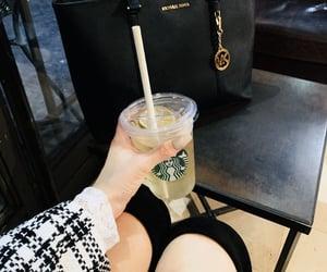 bag, drink, and lemon image