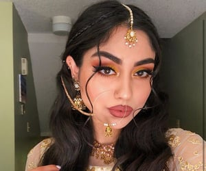 afghan, bollywood, and bride image