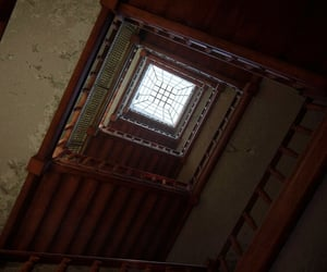 brown, ceiling, and levels image