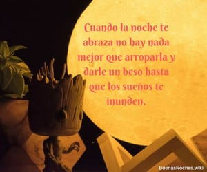 buenas noches, frases, and quotes image
