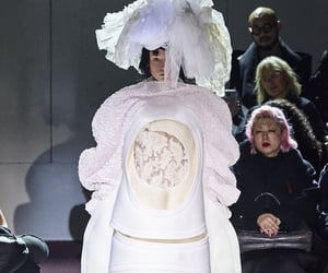 comme des garcons, fashion, and white image