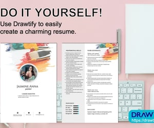 do it yourself, graphic design, and resume image
