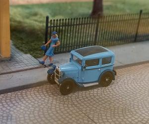 lady, miniature, and vintage image