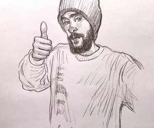 30 seconds to mars, drawing, and fanart image