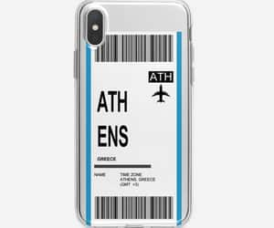Athens, time, and phone case image