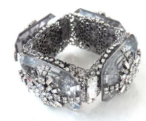 crystal bracelet, designer bracelet, and unusual bracelet image