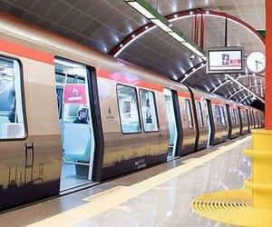 istanbul, metro, and subway image