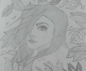 autumn, blow, and leaves image