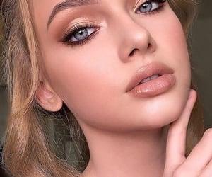 beauty, blonde girls, and blue eyes image