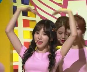 heart, pink, and mina image