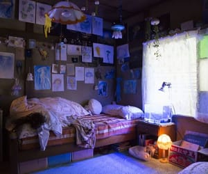 aesthetic, room, and 海 月 姫 部屋 image