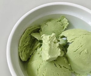 aesthetic, green, and ice cream image