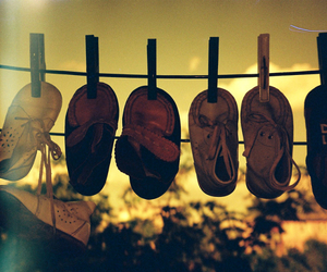 lomo, shoes, and summer image