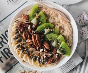 banana, healthy, and kiwi image
