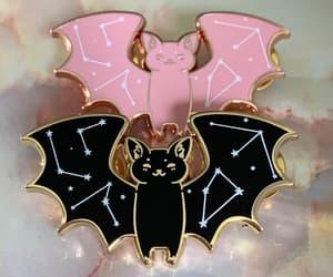 animals, bat, and constellations image