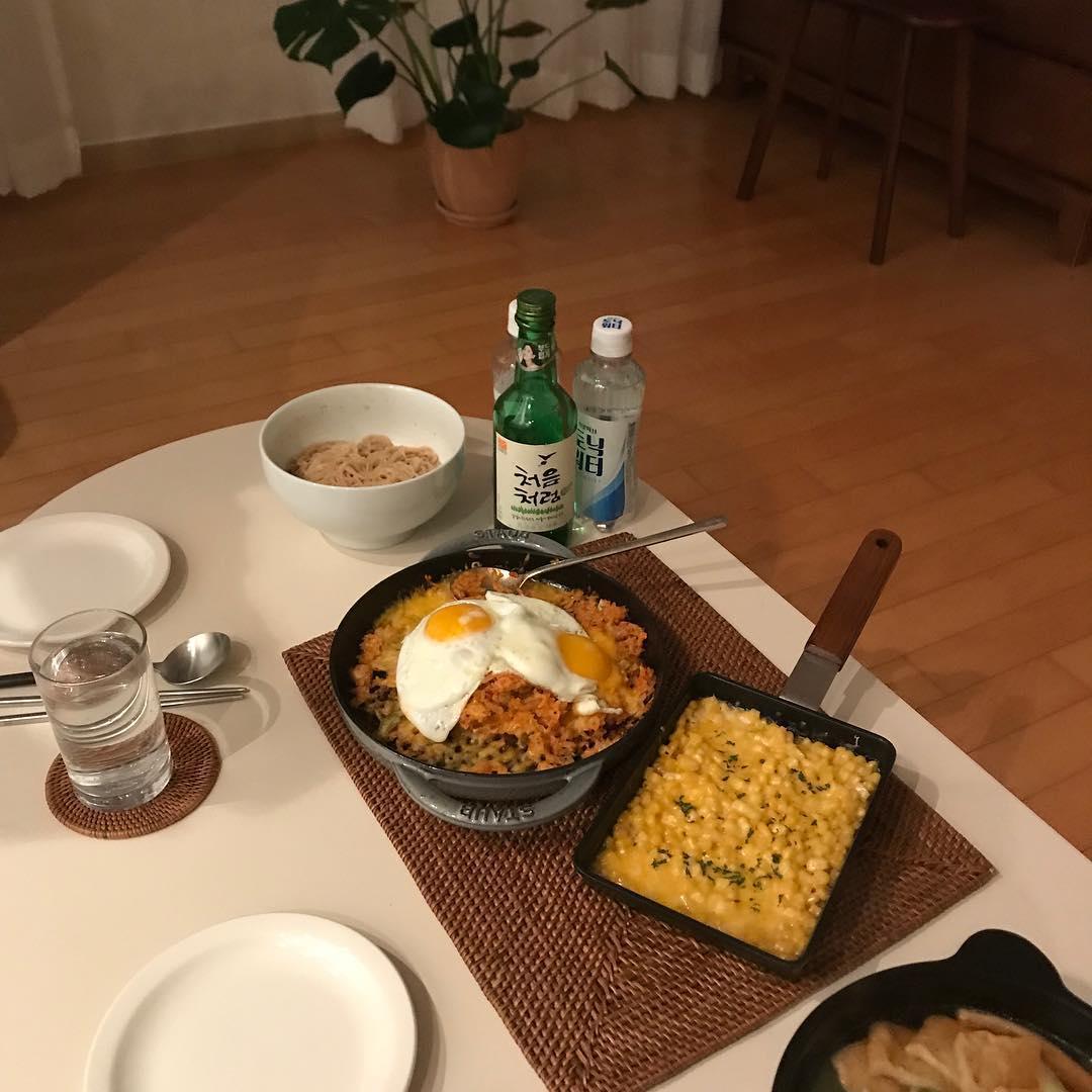 food, korea, and korean image