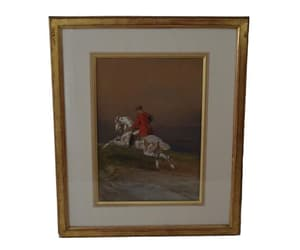 etsy, horse painting, and horse portrait image