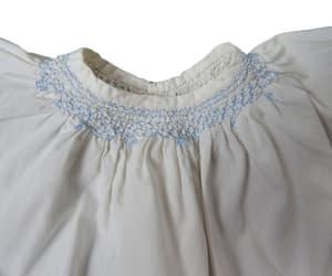 etsy, white, and smocked dress image