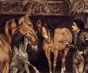 book, gulliver's travels, and horse image