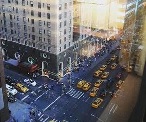 city, new york, and usa image