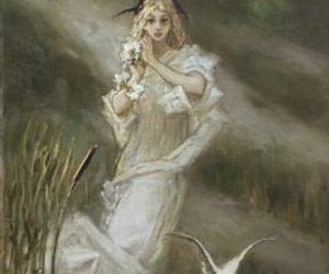 1900s, art, and blonde image