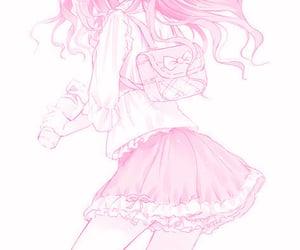 kawaii, pastel, and manga image