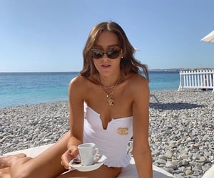 beach, chic, and classic image