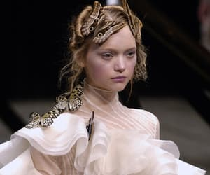 fashion, Gemma Ward, and Alexander McQueen image