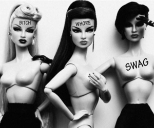 barbie, bitch, and swag image