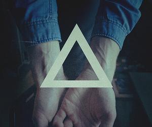 finger, grunge, and illuminati image