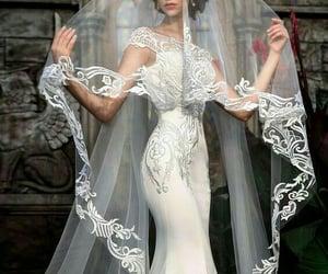 bride, dreams, and wedding dress image