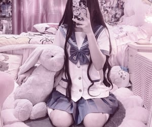 aesthetic, cute, and anime image