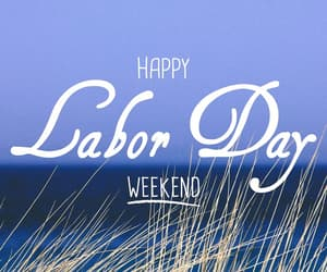 beach, weekend, and labor day image