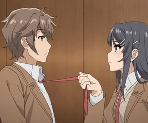 anime, mai sakurajima, and bunny girl senpai image