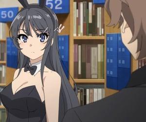 anime, pfp, and seishun buta yarou image