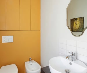 apartment, house, and toilet image