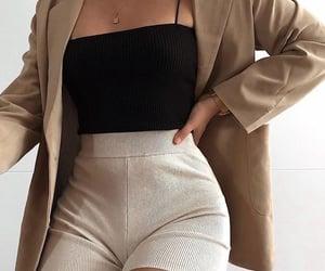 blazer, fashion, and ootd image
