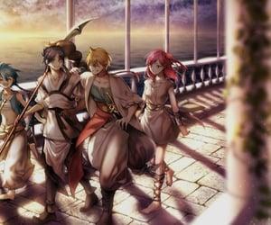 aladdin, anime, and anime girl image