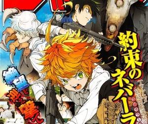 anime, manga, and cover image