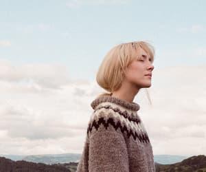 blonde, pretty, and Saoirse Ronan image